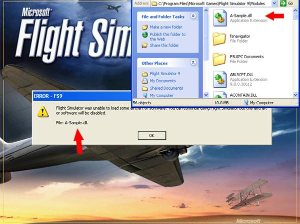 Папка модулей и файлы DLL